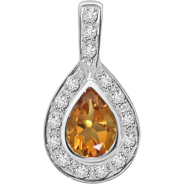 Indian Radiance -Dia+Gemstone