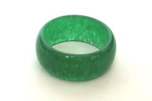 Jade rings -19 rings Size US 6 3/4 & rings Width 5mm