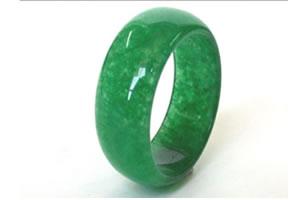 Jade rings -27 rings Size US 5 3/4 & rings Width 4 mm
