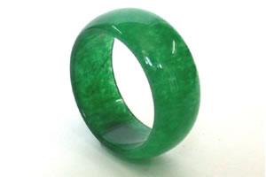 Jade rings -43 rings Size US 5 1/2 & rings Width 6mm