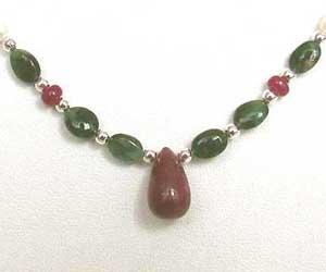 Joyous Beauty -Precious Stone Necklace