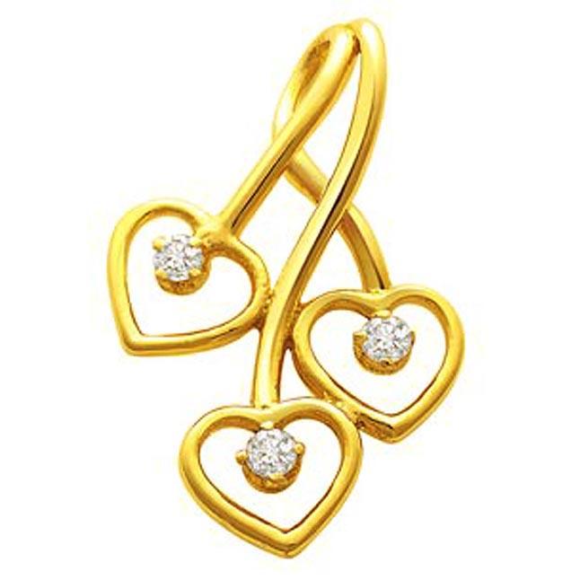 Elegant Heart Pendants