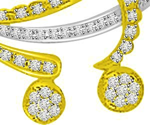 Love Cradle 0.35ct Diamond Necklace Pendants