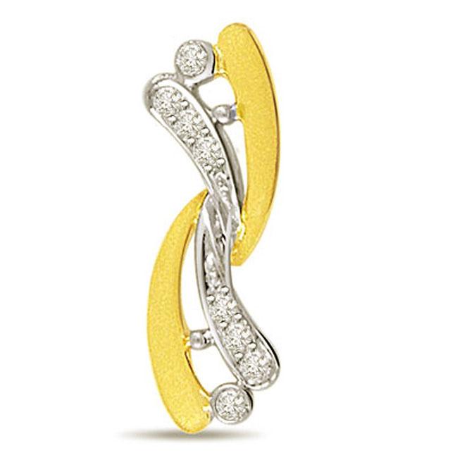 Lovers Special 0.12cts Diamond Pendants