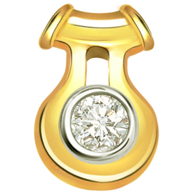 Magical Diamond Solitaire Pendants -Solitaire