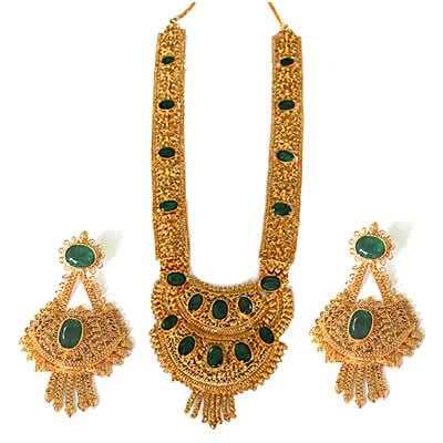 Maharani Necklace Earrings Set s