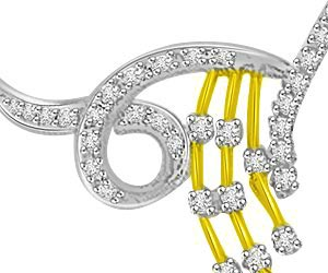 Melody Of My Life 0.40ct Diamond Necklace Pendants