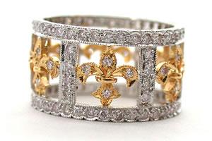 Mesmerising Mates 1.00 ct G / VVS1 Diamond Wedding B