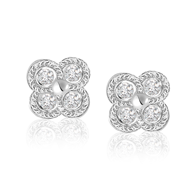 Mood Enhancers -Flower Shape Earrings