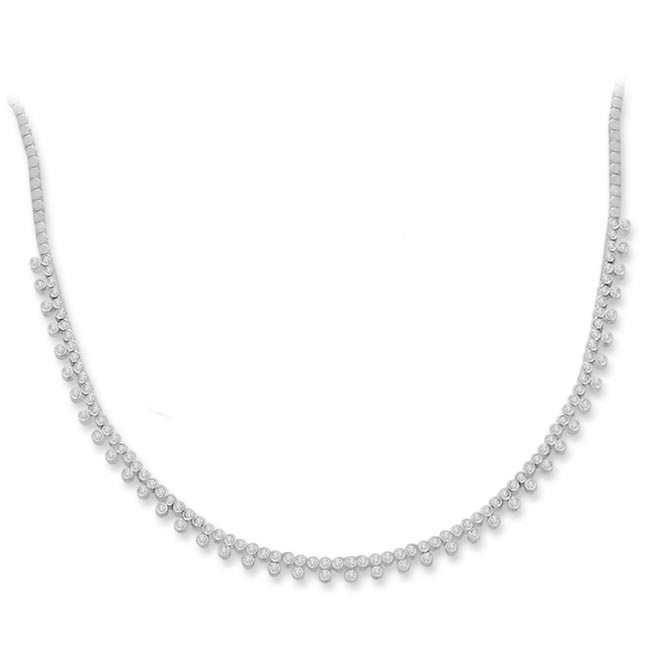 Moonshine Love 2.10ct VS Clarity Diamond Necklace -Diamond Necklace