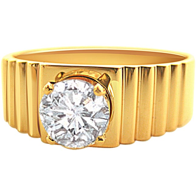 Mingle of Love Men's only rings -Solitaire rings