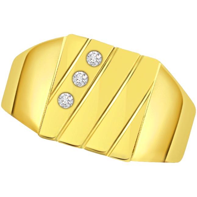 Tie Knot Forever Diamond Men's rings