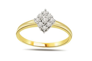 Mystic Flora Designer 1.00 ct Diamond rings