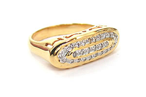 Mythic Radiance 0.29 ct Classic Diamond rings -Couture Collection