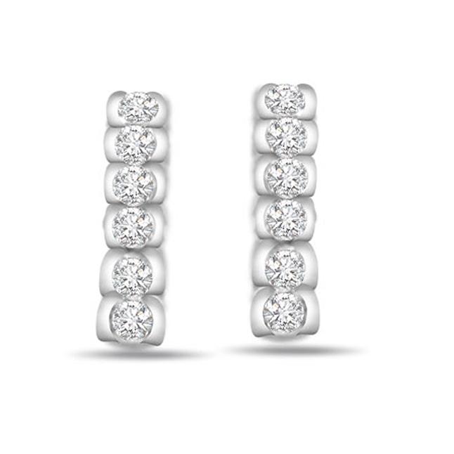 e3307b84fafab Unconditional Love Two Tone Gold   Diamond Earrings