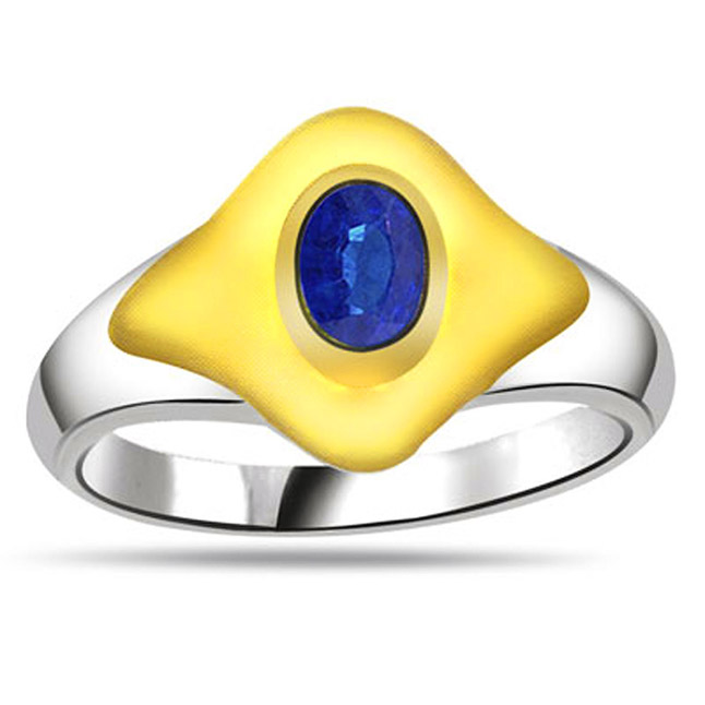 Oval Sapphire Gold rings SDR1178