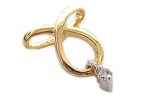 Classic Creation Diamond Pendants P102