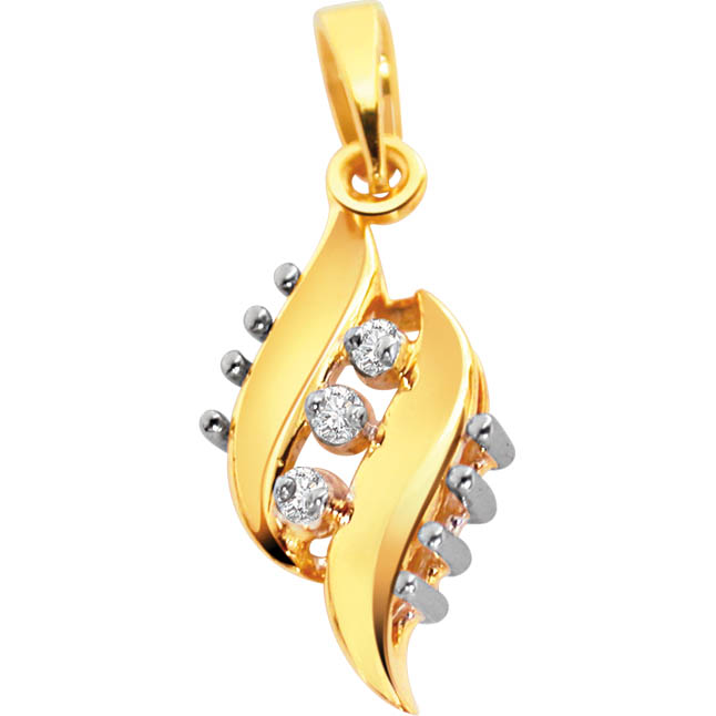 Eternal Love Diamond Pendants -Designer Pendants