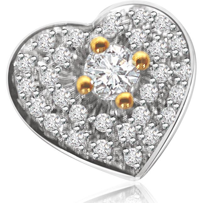 Your Adorable Darling Real Diamond Pendants in 18kt