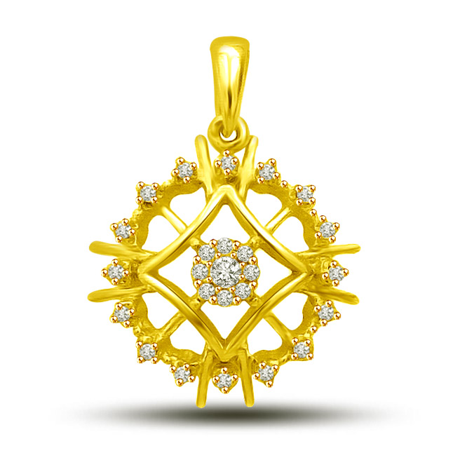 Opulence -your way of life -Flower Shape Pendants