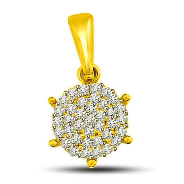 Love, Luxury Lumiscience -Flower Shape Pendants