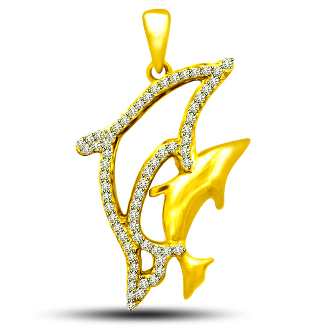 Charming Dolphin Pendants -Designer Pendants