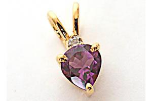 Purple Sundae -Dia+Gemstone