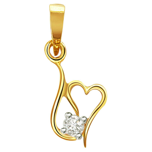 Diamond Cutie Hearts -diamond cutie Pendants| Surat Diamond Jewelry
