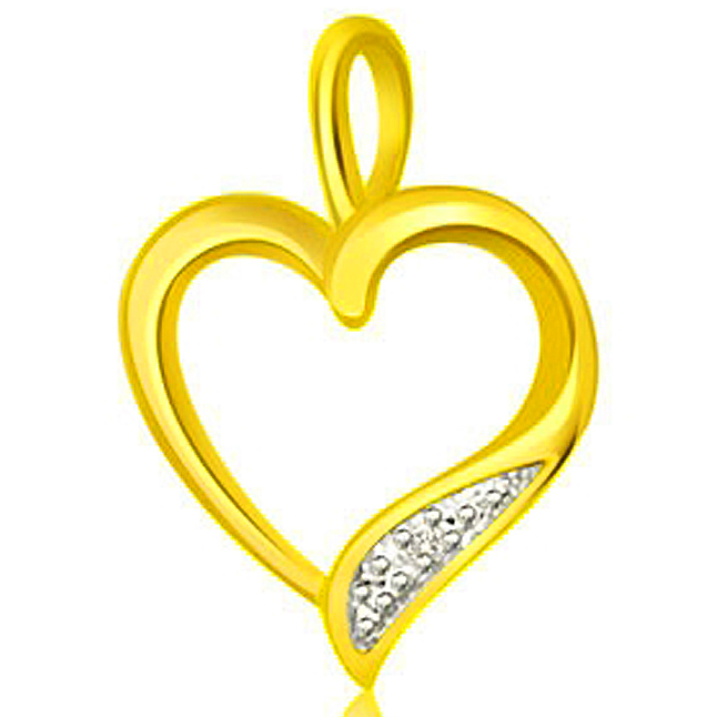 Shiny lil Hearts - Heart Shape Pendant