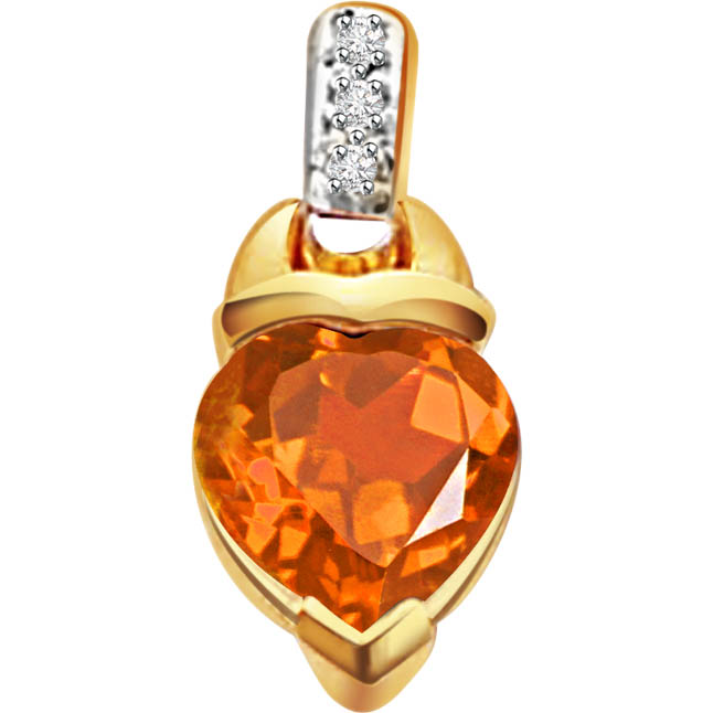 Sweet Marmalade -diamond Pendants| Surat Diamond Jewelry