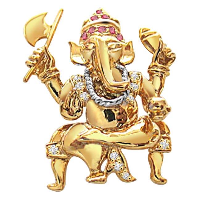 Ganesh Deva      P204 -Religious Pendants