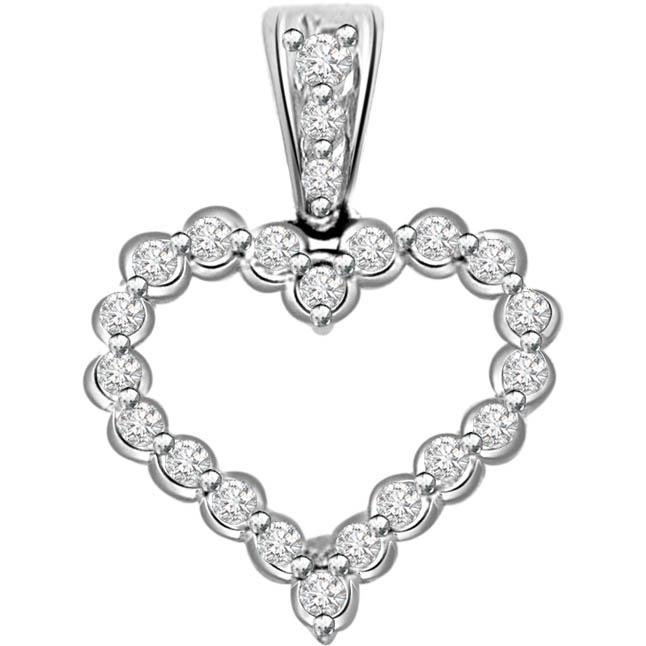 Diamond Fancy Heart