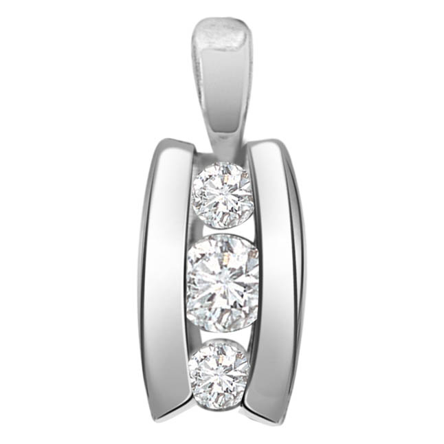 Diamond Treasure P231 -White Gold