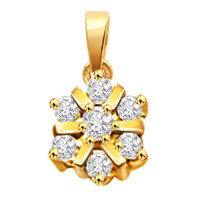 In the mood for love -Flower Shape Pendants