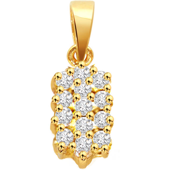Diamond Sunshine -Designer Pendants