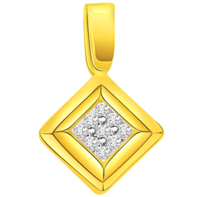 The Elegant Craft 0.18 ct Diamond Pendants -Designer Pendants