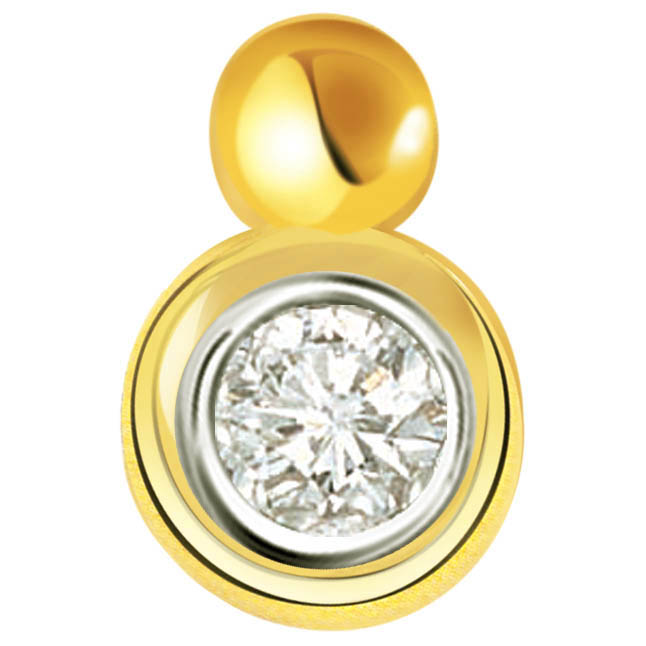 Super Stardom Solitaire Diamond Pendants -Solitaire