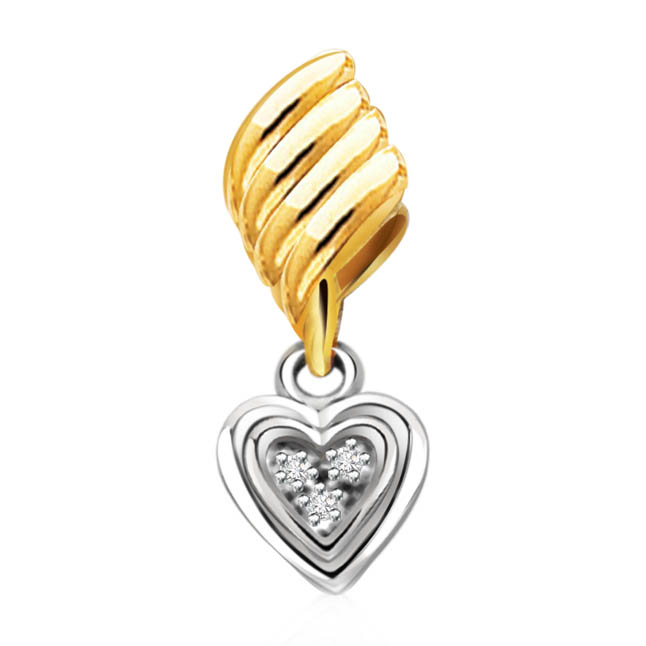 Secret Crush Diamond Heart Pendants