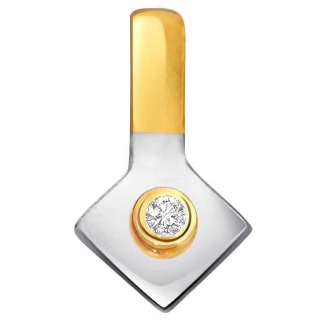 Mesmerizing Diamond Solitaire Pendants P329