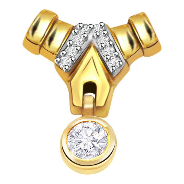 Sweet Surprise Diamond Pedant P369