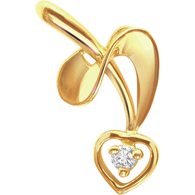 Madly In Love Diamond Pendants