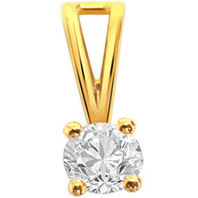 North Star -0.40ct Diamond Solitaire Pendants -Special Deals