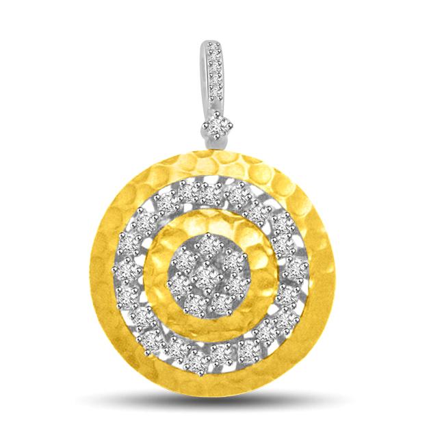 Fireball Design Diamond & Gold Pendants For The Lovely Lady In Your Life -Designer Pendants