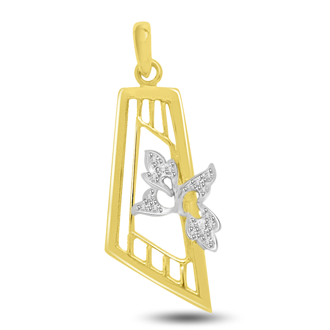 Love As A Locket : Diamond & Gold Pendants For The Lady Of Your Heart -Designer Pendants