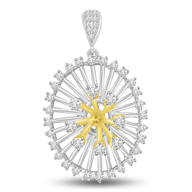 Ball of Love : Diamond & Gold Pendants for her -Designer Pendants
