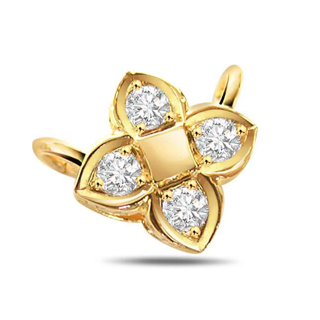 Pure love Diamond Pendants -Designer Pendants
