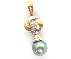 Impressive Woman -Tahitian Pearl Pendants