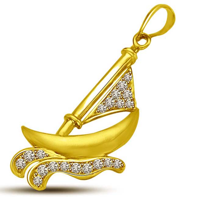 I am Sailing in my Diamond Boat in the Sea of Love -Sport Collection
