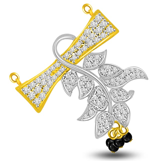 Petals Galore 0.44ct Diamond Necklace Pendants