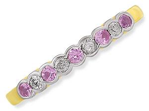 Pink C y Floss -Gemstone & Diamond